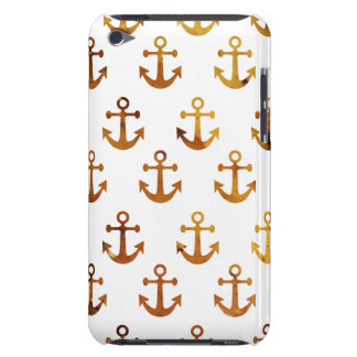 Amber texture anchors pattern iPod Case-Mate case