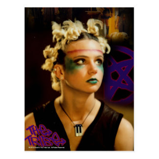 Amber The Tribe Postcard