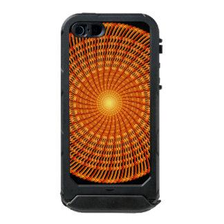 Amber Vortex Mandala Incipio ATLAS ID™ iPhone 5 Case
