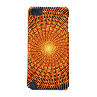 Amber Vortex Mandala iPod Touch (5th Generation) Case