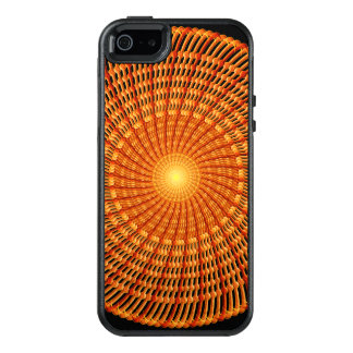 Amber Vortex Mandala OtterBox iPhone 5/5s/SE Case