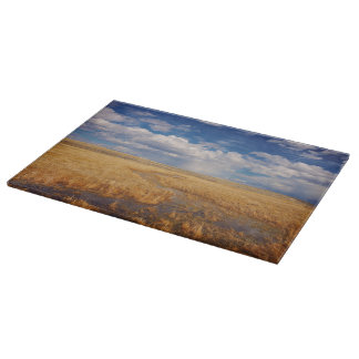 Amber Waves of Gold Cutting Board Landscape