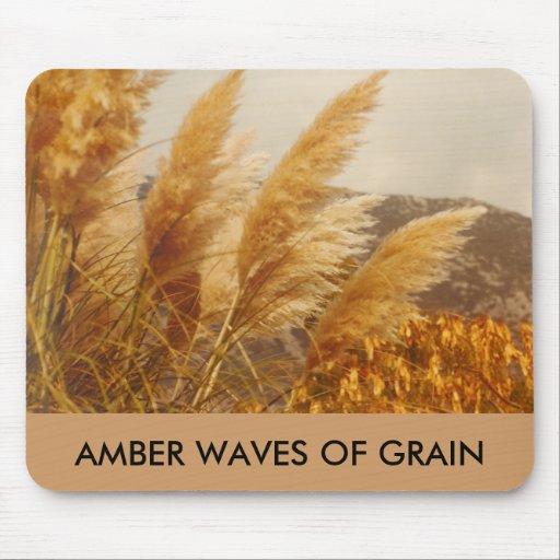 AMBER WAVES OF GRAIN - mousepad
