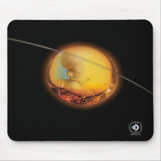 AMBER WOMB MOUSE PAD