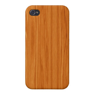 Amber Wood Grain iPhone 4 Cover