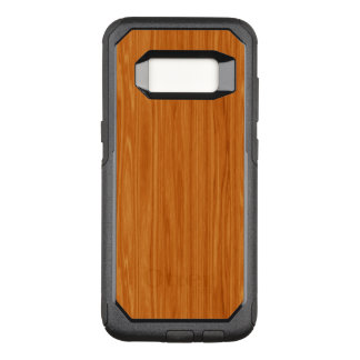 Amber Wood Grain OtterBox Commuter Samsung Galaxy S8 Case