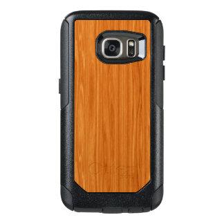 Amber Wood Grain OtterBox Samsung Galaxy S7 Case