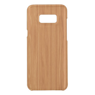 Amber Wood Grain Uncommon Samsung Galaxy S8 Plus Case