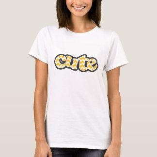Amber Yellow Chevron; zig zag T-Shirt