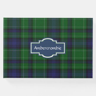 Ambercrombie Plaid Guest Book
