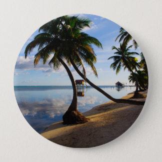 Ambergris Caye Belize 10 Cm Round Badge