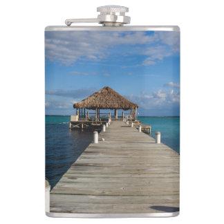Ambergris Caye Belize Flasks