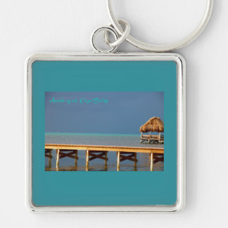Ambergris Caye, Belize Keychain