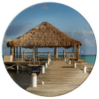 Ambergris Caye Belize Plate