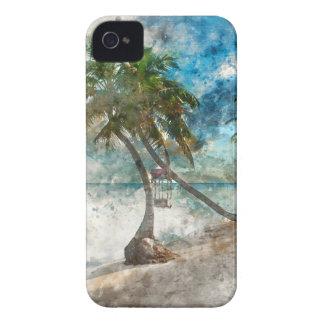 Ambergris Caye Belize Travel Destination iPhone 4 Case