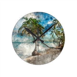 Ambergris Caye Belize Travel Destination Round Clock