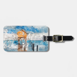 Ambergris Caye Belize Vacation Holiday Luggage Tag