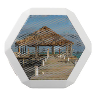 Ambergris Caye Belize White Bluetooth Speaker