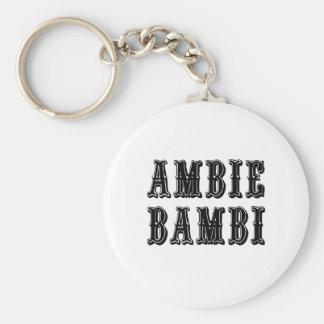 Ambie Bambi Key Ring