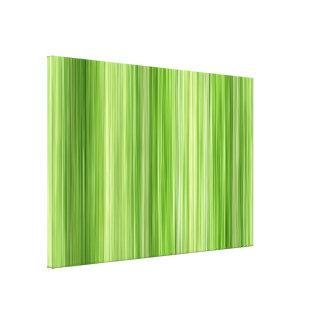 "Ambient 3 Green, Original modern design ""Key Lime"" Canvas Print"