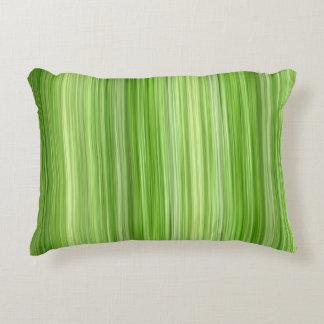 "Ambient 3 Green, Original modern design ""Key Lime"" Decorative Cushion"