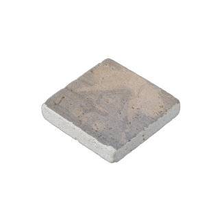 """Ambigram"" Natural Stone Magnet"