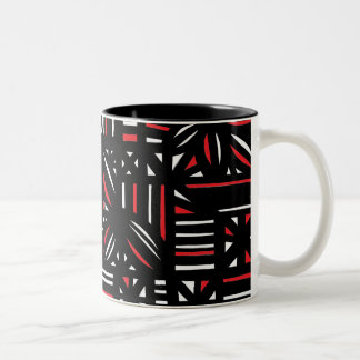 Ambitious Determined Loving Reward Two-Tone Mug