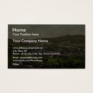 Ambleside, Lake District, England rare Photochrom Business Card