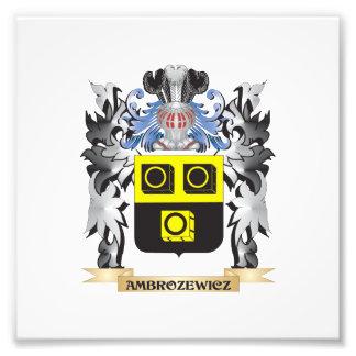 Ambrozewicz Coat of Arms - Family Crest Photo Print