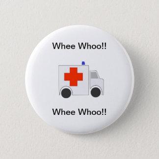 Ambulance 6 Cm Round Badge