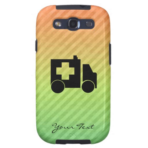 Ambulance Design Samsung Galaxy SIII Covers