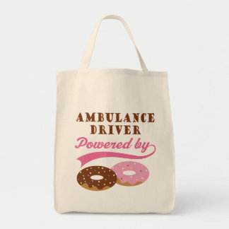 Ambulance Driver Funny Gift Grocery Tote Bag