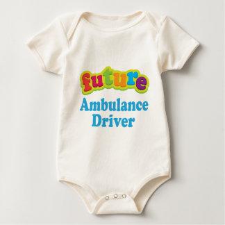 Ambulance Driver (Future) For Child Baby Bodysuit