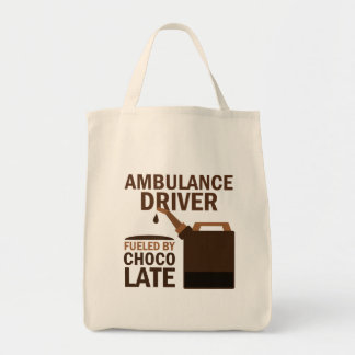 Ambulance Driver Gift (Funny) Grocery Tote Bag