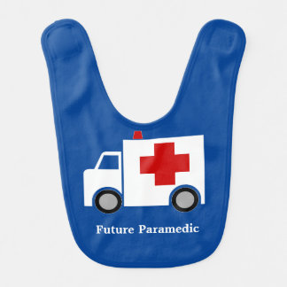 Ambulance | Future Paramedic | Personalized Bib