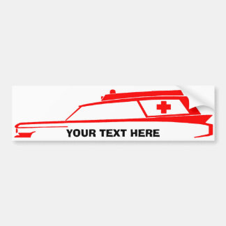 AMBULANCE Logo Bumper Sticker