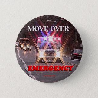 Ambulance_Move_Over.gif 6 Cm Round Badge