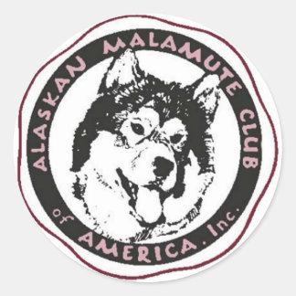 AMCA Logo Classic Round Sticker