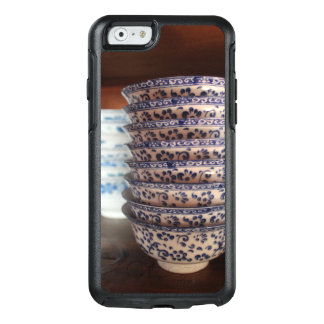 Amdo Tibetan Ceramic Blue and White Bowls OtterBox iPhone 6/6s Case