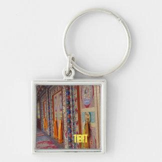 Amdo Tibetan Traditional Colorful Doors Key Chain