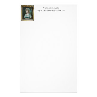 Amélie Julie Candeille 1791 Stationery