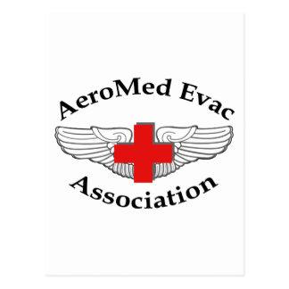 AMEA Logo drop shadow version Post Card