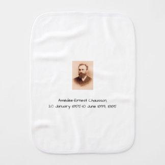 Amedee-Ernest Chausson Burp Cloth