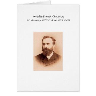 Amedee-Ernest Chausson Card