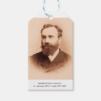 Amedee-Ernest Chausson Gift Tags