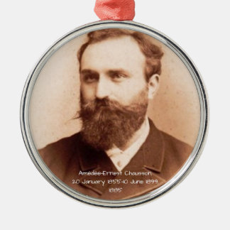 Amedee-Ernest Chausson Metal Ornament