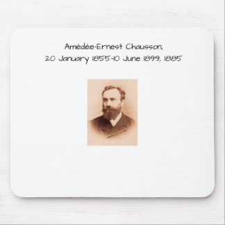 Amedee-Ernest Chausson Mouse Pad