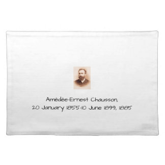 Amedee-Ernest Chausson Placemat