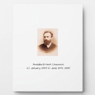 Amedee-Ernest Chausson Plaque