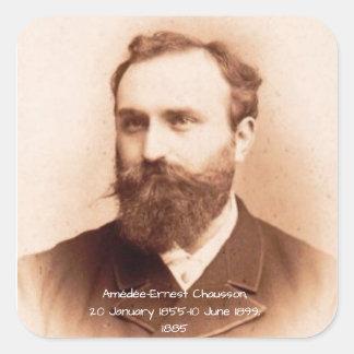 Amedee-Ernest Chausson Square Sticker